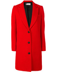 Single breasted whipcord coat medium 4346493