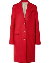 The Row Teymon Oversized Grain De Poudre Wool Coat