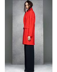 Wallis Red Relaxed Coat | Where to buy &amp how to wear