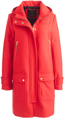 J.Crew Wool Melton Duffle Coat | Where to buy & how to wear
