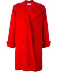 Yves saint laurent vintage open front coat medium 703074