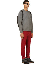Mens Red Corduroy Pants - Fat Pants