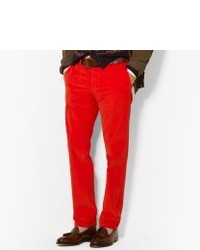 Red Corduroy Jeans for Men | Men's Fashion