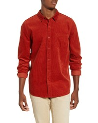 Banks Journal Roy Button Up Corduroy Shirt