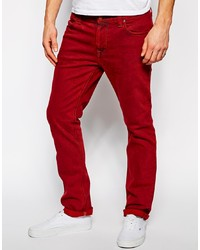 Nudie Jeans Thin Finn Skinny Fit Icon Red