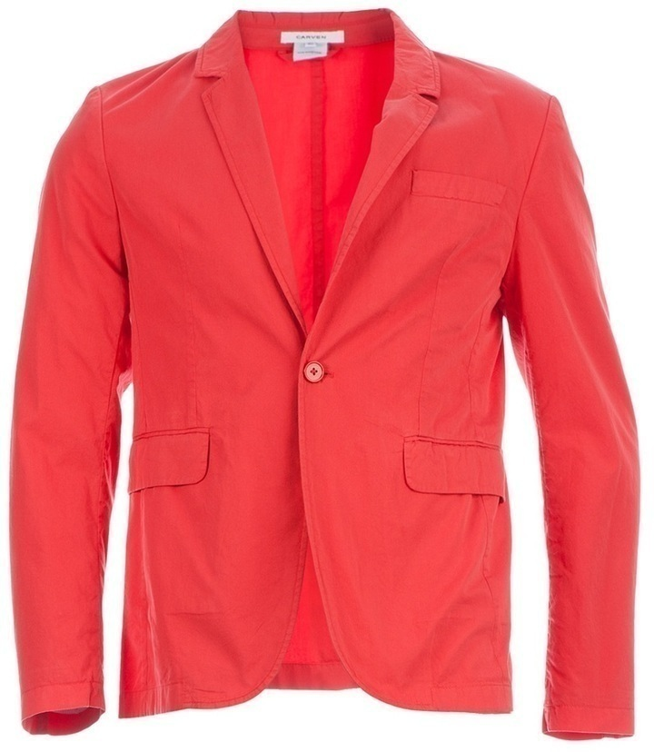 Carven Single Button Blazer