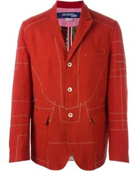 Junya Watanabe Comme Des Garons Man Embroidered Lining Blazer