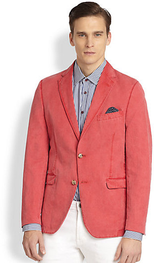 Shop linen relaxed jacket at Neiman Marcus, where you will find free shipping on the latest in fashion from top designers.