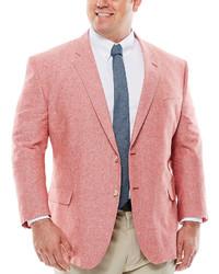 Stafford Stafford Linen Cotton Jacket Big Tall