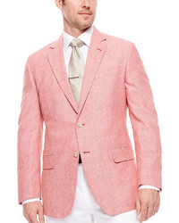 Stafford Stafford Linen Cotton Jacket Classic Fit