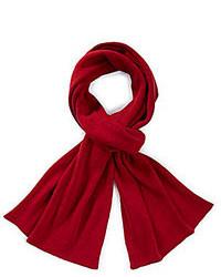 Murano Cashmere Blend Flat Knit Scarf
