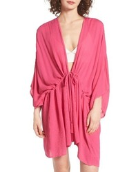 Echo Open Front Cover Up Caftan