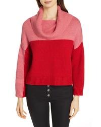 Alice + Olivia Bryant Colorblock Sweater