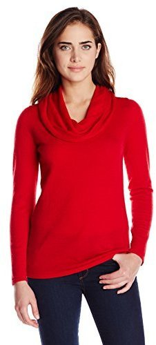 Colourworks Colour Works 100% Merino Long Sleeve Cowl Neck Sweater ...
