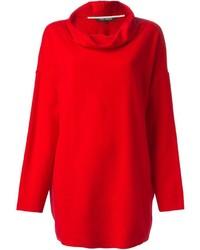 Cowl neck loose fit sweater medium 355009