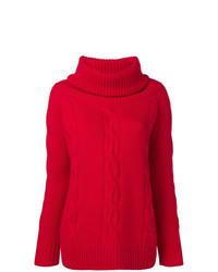 Philo-Sofie Embossed Turtleneck Sweater