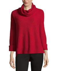 Liz Claiborne Long Sleeve Cowl Neck Pullover Sweater  Talls