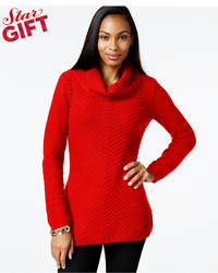 Allison Brittney Cowl Neck Sweater With 34 Dolman Sleeve | Where ...