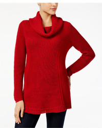 Style co cowl neck tunic sweater created for macys medium 6869950