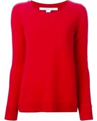 Red crew neck sweater original 1328991
