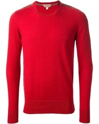 Red Crew-neck Sweater