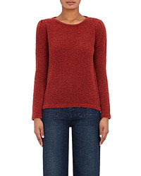 Barneys New York Xo Jennifer Meyer Bateau Neck Sweater