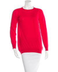 Balenciaga Cashmere Long Sleeve Sweater