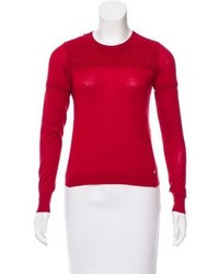 Chanel Cashmere Puckered Top
