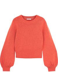 Chloé Cashmere Sweater Coral
