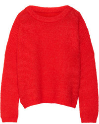 By Malene Birger Claudetta Knitted Sweater Tomato Red