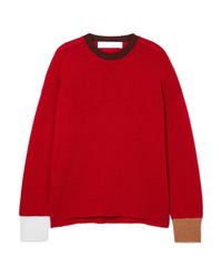 Marni Color Block Cashmere Sweater