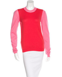 Marni Colorblock Cashmere Sweater