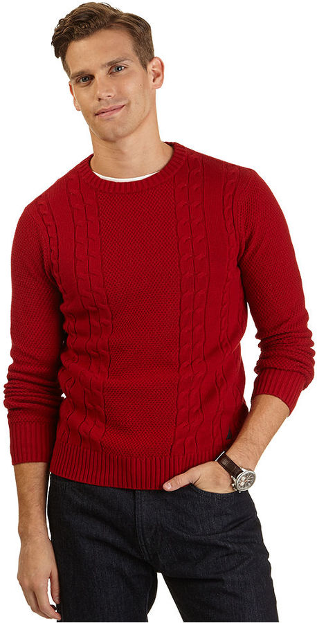 Nautica Crew Neck Fisher Sweater | Where to buy & how to wear