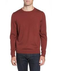 Crewneck merino wool sweater medium 8671752