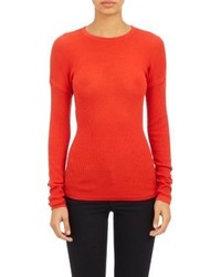 Derek Lam Drop Shoulder Pullover Sweater