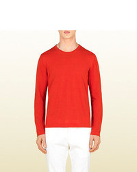 Gucci Cotton Knit Top