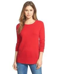 Halogen Crewneck Lightweight Cashmere Sweater