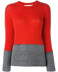 Marni Contrast Panel Jumper