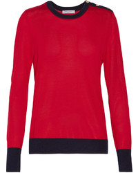 Equipment Ondine Silk And Cashmere Blend Sweater