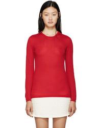 Giambattista Valli Red Cashmere Sweater