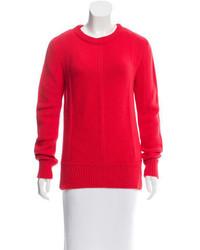 Derek Lam Red Crew Neck Sweater