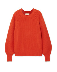 MICHAEL Michael Kors Ribbed Knit Sweater
