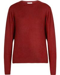 Raey Ry Crew Neck Fine Knit Cashmere Sweater