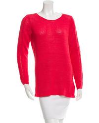 Rachel Zoe Scoop Neck Sweater