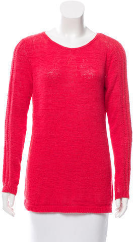 Rachel Zoe Scoop Neck Sweater