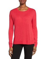 Halogen Seam Detail Highlow Sweater