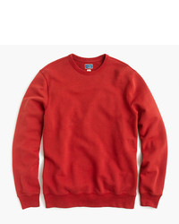 J.Crew Tall Washed French Terry Crewneck Sweatshirt