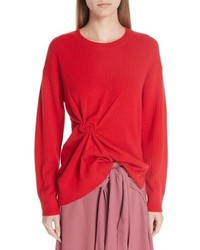 Sies Marjan Twist Detail Cashmere Sweater