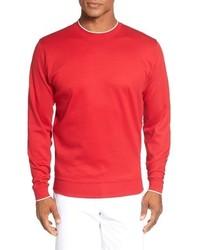 Walker tipped pima cotton long sleeve t shirt medium 792357