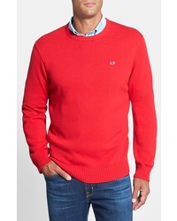 Whale classic fit cotton crewneck sweater medium 143152